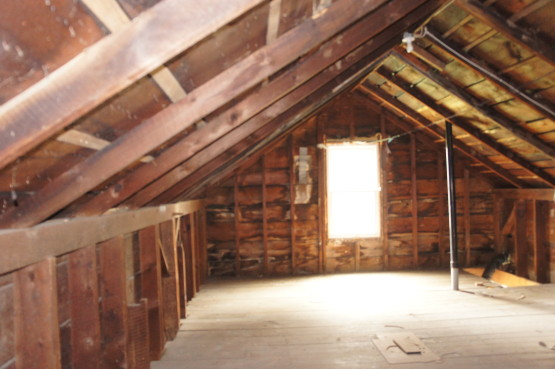 allowing for all new services, restructuring and insulation