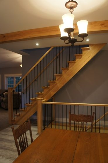 new open stairs