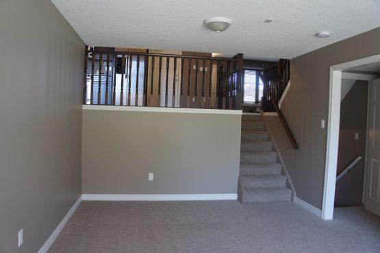 original opening to main floor area