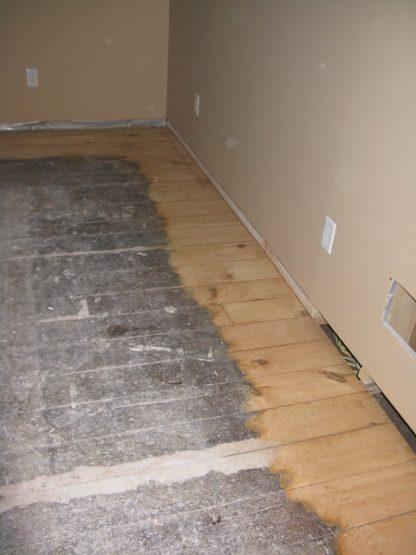 original red pine floors